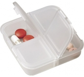 Square Pill Box  by Gopromotional - we get your brand noticed!