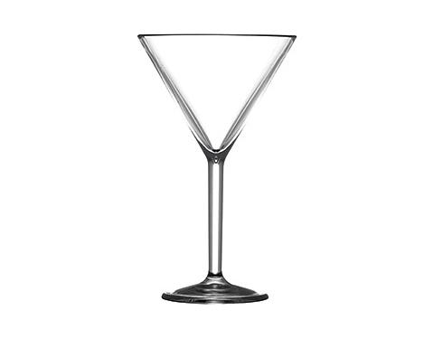 Premium Plastic Martini Glass