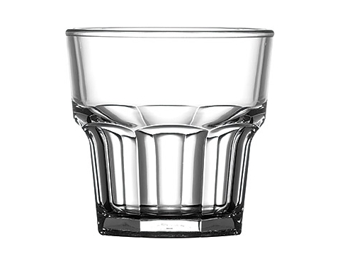 Premium Plastic Remedy Rock Glass