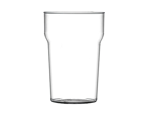 Premium Plastic Nonic Pint Glass