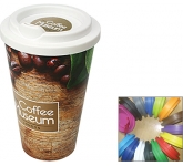 ColourBrite Cubana Take Away Mug  by Gopromotional - we get your brand noticed!