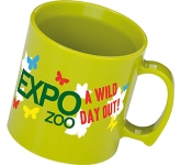 Essential Printed Plastic Mug  by Gopromotional - we get your brand noticed!