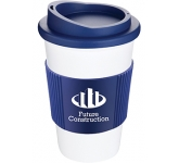 Classic Americano Grip Take Away Mugs - White