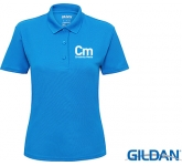 Gildan Womens Performance Double Pique Sports Polo Shirts - Coloured  by Gopromotional - we get your brand noticed!