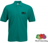 Fruit Of The Loom Value Weight Polo Shirts - Coloured