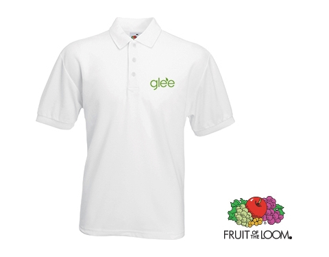 Fruit Of The Loom Value Weight Polo - White