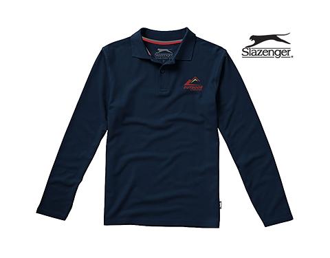 Slazenger Point Long Sleeved Polo Shirt