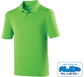 AWDis Kids Performance Polo Shirts