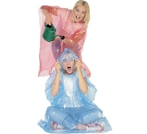 Foldable Translucent PVC Poncho  by Gopromotional - we get your brand noticed!