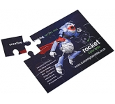 12 Piece Card Jigsaw  by Gopromotional - we get your brand noticed!