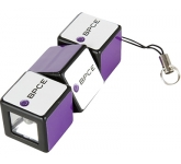 Rubik's Mini LED Flashlight  by Gopromotional - we get your brand noticed!