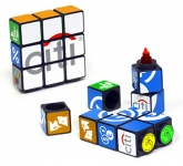 Rubik's Highlighter Pen Set  by Gopromotional - we get your brand noticed!