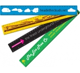 30cm ColourBrite Coloured Branded Ruler