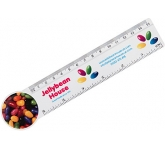 15cm Circle Shaped Ruler  by Gopromotional - we get your brand noticed!