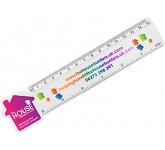15cm House Shaped Ruler