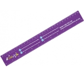 30cm Plastic Ruler  by Gopromotional - we get your brand noticed!