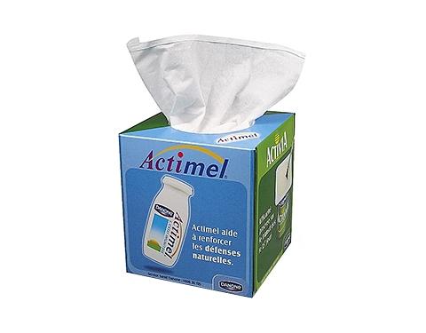 Box Of 100 2-ply White Tissue