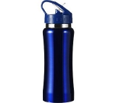 Sierra 600ml Metal Water Bottle  by Gopromotional - we get your brand noticed!