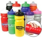 Contour Grip 500ml Sports Bottle  by Gopromotional - we get your brand noticed!