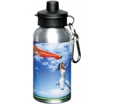 Super 400ml Aluminium Sports Bottle  by Gopromotional - we get your brand noticed!