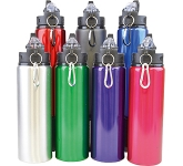 Cayen 800ml Aluminium Drinks Bottle  by Gopromotional - we get your brand noticed!