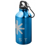 Karabiner 350ml Aluminium Drinking Bottle  by Gopromotional - we get your brand noticed!