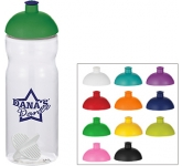 H20 Impact 650ml Domed Top Shaker Ball Sports Bottle  by Gopromotional - we get your brand noticed!