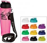 H20 Marathon 700ml Flip Top Lanyard Sports Bottle  by Gopromotional - we get your brand noticed!