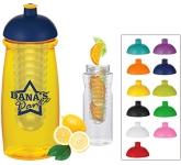 Splash 600ml Domed Top Fruit Infuser Sports Drink Bottle