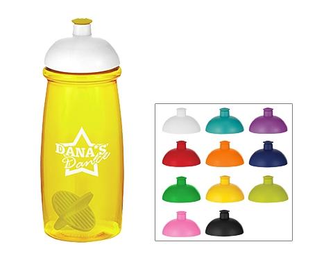 Splash 600ml Domed Top Shaker Ball Sports Bottle