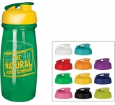 Splash 600ml Flip Top Water Bottle  by Gopromotional - we get your brand noticed!