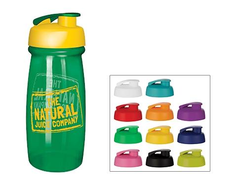 Splash 600ml Flip Top Water Bottle