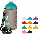 H20 Triathlon 500ml Domed Top Lanyard Sports Bottle  by Gopromotional - we get your brand noticed!