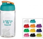 H20 Triathlon 500ml Flip Top Shaker Ball Water Bottle  by Gopromotional - we get your brand noticed!