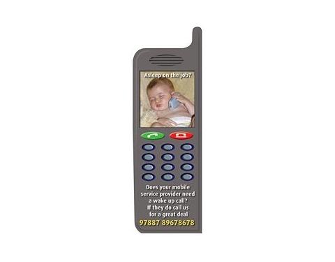 Mobile Phone Shaped Fridge Magnets - Small