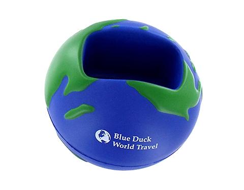 Globe Phone Holder Stress Ball