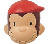 Bobble Head Monkey Stress Toy