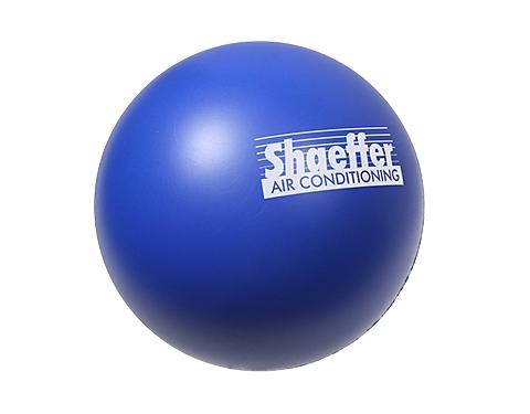 Premium Branded 70mm Round Stress Ball