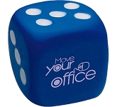 Small Dice Stress Toy  by Gopromotional - we get your brand noticed!