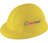 Hard Hat Stress Toy  by Gopromotional - we get your brand noticed!