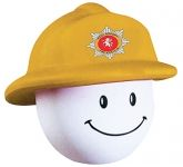 Fireman Mad Hat Stress Toy  by Gopromotional - we get your brand noticed!