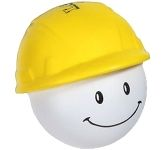 Hard Hat Man Stress Toy  by Gopromotional - we get your brand noticed!