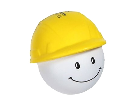 Hard Hat Man Stress Toy