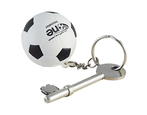 Football Keyring Stress Toy