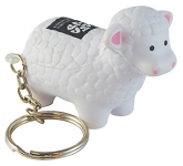 Sheep Keyring Stress Toy