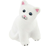 Snowflake Cat Stress Toy  by Gopromotional - we get your brand noticed!