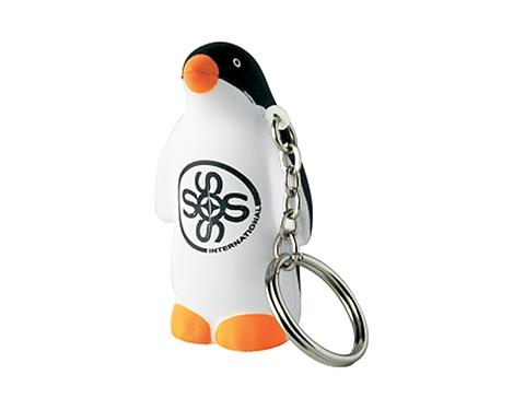 Penguin Keyring Stress Toy