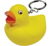 Duck Keyring Stress Toy