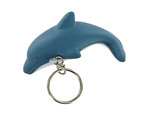 Dolphin Keyring Stress Toy