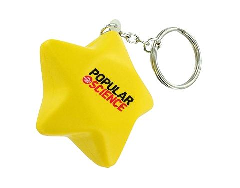Star Keyring Stress Toy